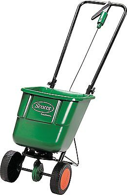 Scotts EasyGreen Rotary Spreader - Fertiliser, Grass Seed, Weed Control, & Salt