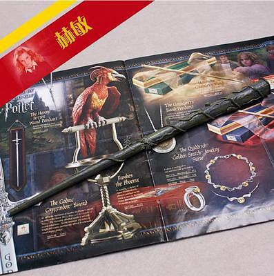 Harry Potter Hermione Magical Magic Wand With LED Light Costume Halloween AU