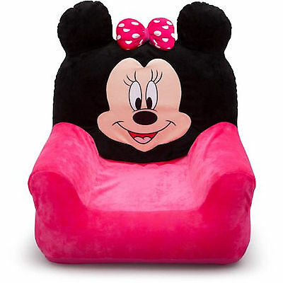 New Delta Children Disney Minnie Mouse Kids Inflatable Club Chair For Playroom