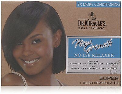 Dr. Miracles Relaxer New Growth Super Kit