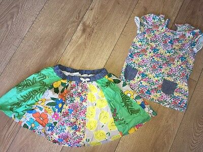 Next Outfit T-shirt & Skirt Excellent Condition 4-5 Years