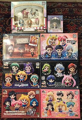 Sailor Moon Petit Chara Lot De 37 Figurines Mega House Japan