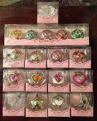 Sailor Moon Miniaturely Tablet Lot de 18 Boîtes Porte-clés Bandai Japan