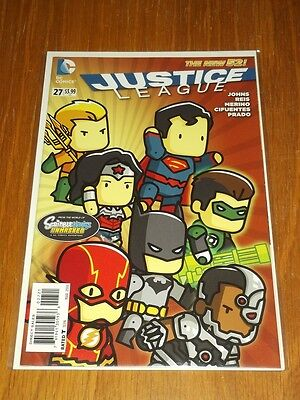 Justice League #27 Dc Comics New 52 Variant March 2014 Nm (9.4)