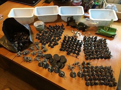 Warhammer Lord Of The Rings Army + Over 200 Models! + Bag Of Bits Plastic Metal