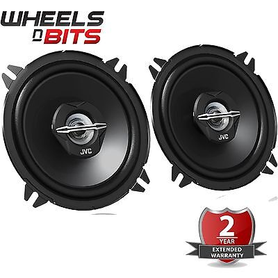 JVC 500 WATTS 5.25 Inch 13cm 2 Way Car Van Truck Door Dash Shelf Speakers Pair