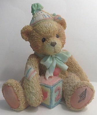 "Cherished Teddies Figurine Age 2 ""Two Sweet Two Bear"" 911321 1992"