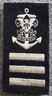 Sea Scout  Able Rank on Blue Wool - Early 60's Mint - BSA