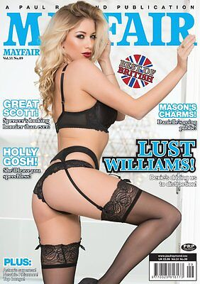 Mayfair Magazine Vol.51 No.9 - Free Dvd Included