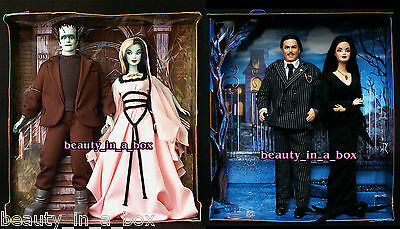 Munsters Barbie Doll & Addams Family ~ NO BOXES Lily Herman Morticia Halloween D
