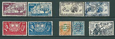1937-1941 USED stamp sets from IRELAND