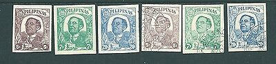 PHILLIPINES stamp set - 1945 Japanese Occupation - Mint & Used