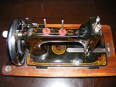 Vintage VESTA sewing machine Free running Comes with extras VGC for age