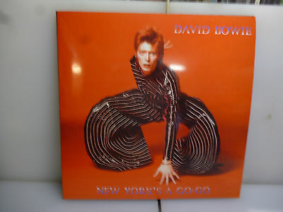 David Bowie-New York's A Go-Go. Nyc, Usa 1973.-2Lp Black Vinyl+Poster-New.sealed
