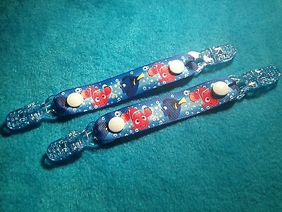 Mitten Gloves Scarf Ski  Keepers/holders Dummy Clips Available Nemo