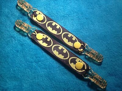 Mitten Gloves Scarf Ski  Keepers/holders Dummy Clips Available Batman