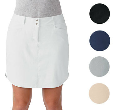 Adidas Ladies Essentials 3 Stripes Skort Golf Womens New - Choose Color & Size!