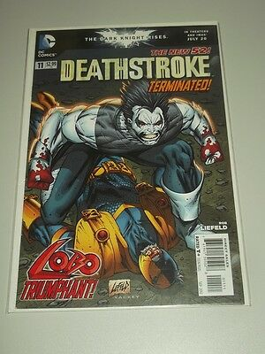 Deathstroke #11 Dc Comics New 52 Nm (9.4)
