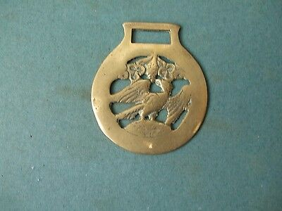 Horse Brass Featuring Eagle As Centre