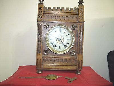 Antique Clock, Looks Like A Winterhalder And Hofmeir ?