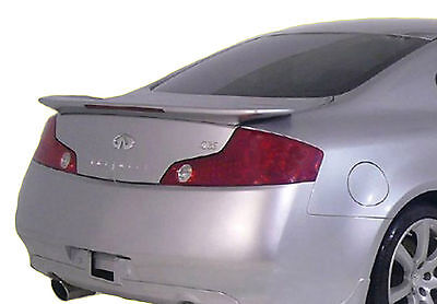 Painted Spoiler For An Infiniti G35 2-Door Factory 2003-2005 2006 2007