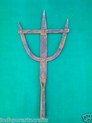 Old Antique Islamic Ottoman Turkish Look Arab Muslim Iron ALAM Standard Insigni