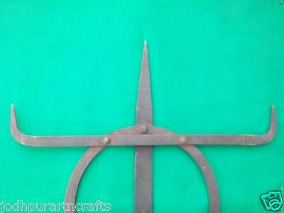 Rare Antique Islamic Ottoman Turkish Look Arab Muslim Iron ALAM Standard Insigni