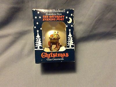 Norman Rockwell Saturday Evening Post Christmas Ornament