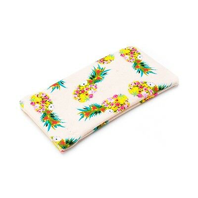 New Pineapple Print Glasses Sunglasses Spectacles Case