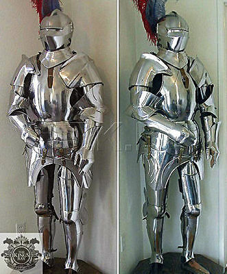 MEDIEVAL KNIGHT SUIT OF ARMOR 17th CENTURY FULL BODY ARMOUR FULL SUIT