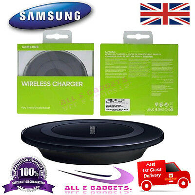 Samsung Galaxy S6 S7 Edge PLUS QI Wireless Charger Charging Pad Plate Note Edge