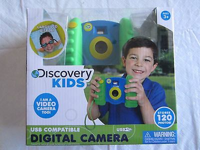 NEW Discovery Kidsw Digital Camera & Video For Boys and Girls
