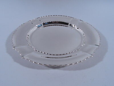 Tiffany Marquise Plate - 15127 - Serving Tray Charger - American Sterling Silver
