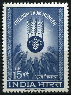 India 1963 SG#466 Freedom  From Hunger MNH #D39234