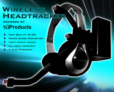 Wireless Head Tracker pro Clip, free track, Freetrack / Compatible with TrackIR.