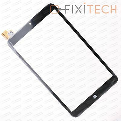 Schwarz Touchscreen Digitizer Display Glas Komp. mit ODYS WinKid 8 PB80JG2030-SL