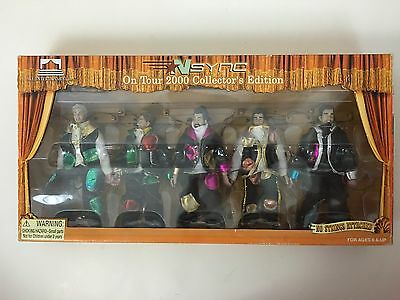 NSync On Tour 2000 Collector's Edition Complete Set of 5 Marionettes Dolls NEW