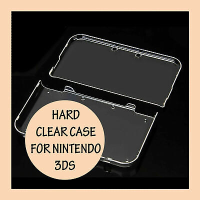 Crystal Clear Hard Shell Case Transparent Skin Cover For NEW Nintendo 3DS XL LL