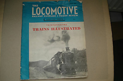 Railway Carriage & Wagon Review Special edition July 1959 for Trains Illustrated