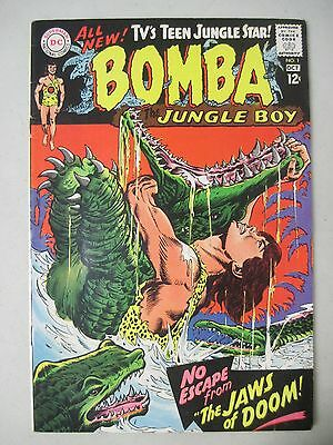 Bomba The Jungle Boy #1 October 1967 Dc Comics First Issue! + Bonus