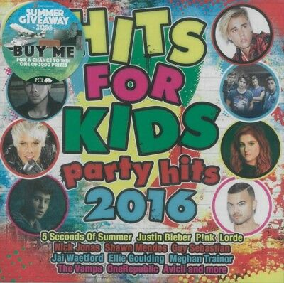 HITS FOR KIDS PARTY HITS 2016 - Various Artists CD *NEW* 2016