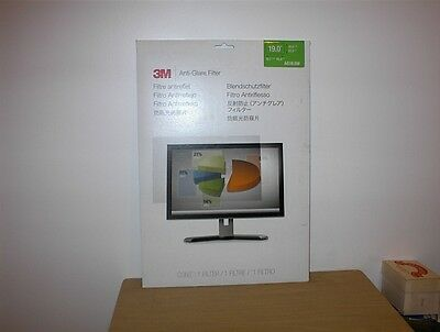"Nib - 3M Ag19.0W Anti Glare Privacy Filter For 19"" Monitor"
