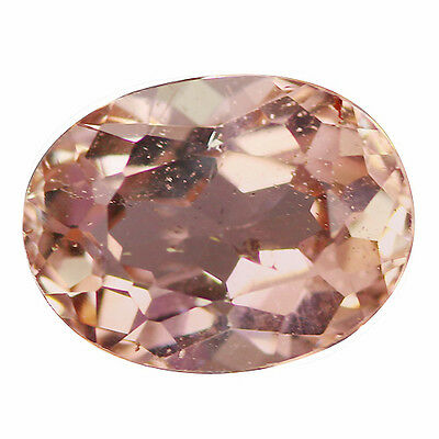 1.71 Ct Awesome Oval cut 9 x 7 mm Genuine Pink Morganite