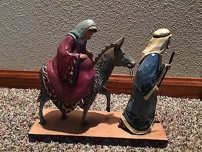 JIM SHORE The Journey That Changed The World Nativity Figure with box