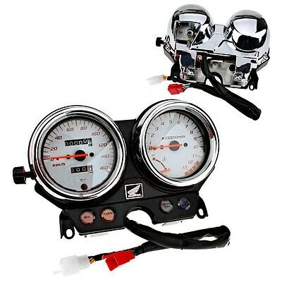 Newly Motorcycle Gauges Cluster Durable Speedometer For Honda VTR250 1998-2004