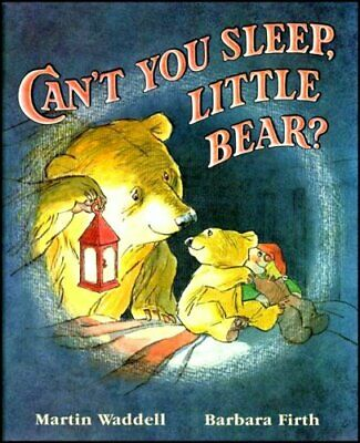 Can't You Sleep, Little Bear? by Martin Waddell Hardback Book The Cheap Fast