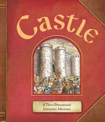 Castle: A Three-Dimensional Interactive Adventure by Duncan Crosbie Book The