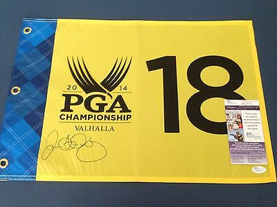 Rory Mcilroy Signed Official 2014 PGA Championship Pin Flag, JSA Certificate!