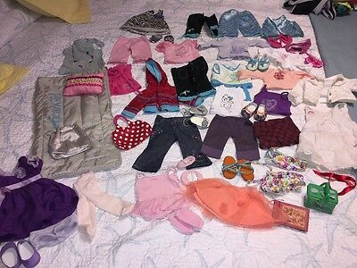 HUGE American Girl Doll Clothes Lot 50+ Pieces All AG