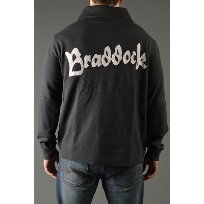 Roots of Fight James Braddock Throwback Button-Front Cardigan - Black